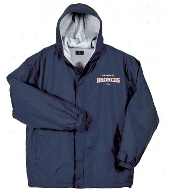 Denver Broncos Jacket: Ships Reebok Legacy Jacket
