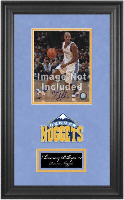 Denver Nuggets Deluxe 8x10 Team Logo Frame