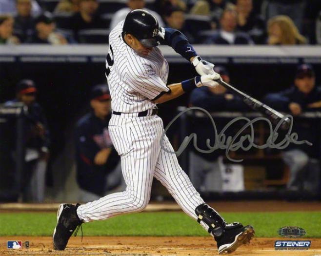 Derek Jeter Autographed 8x10  Particulars: New York Yankees, Strike Record