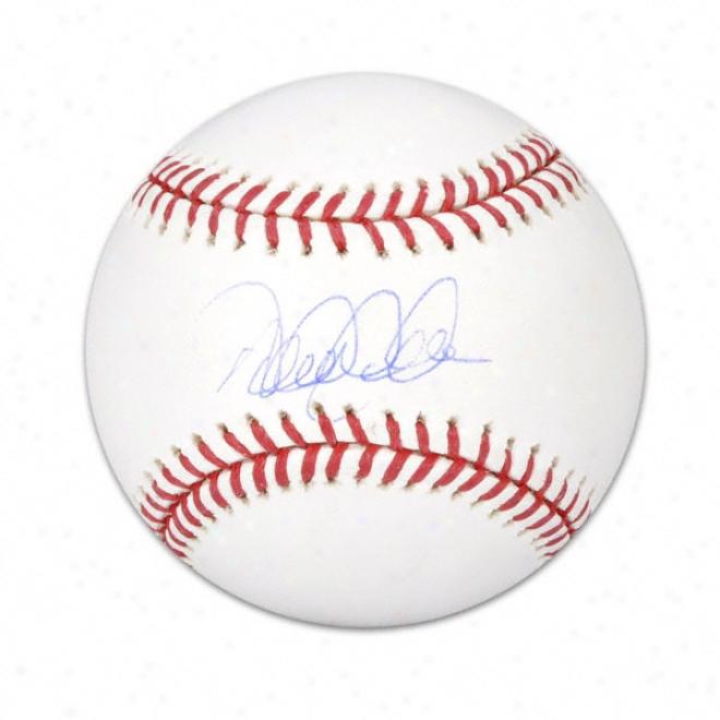 Derek Jeter Autographee Baseball