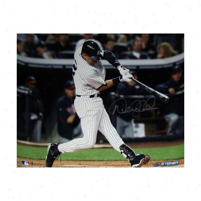 Derek Jeter New York Yankees 16x20 Swing Photo