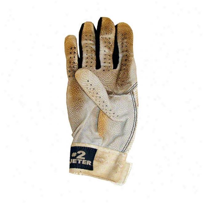 Derek Jeter New York Yankees 2009 Game Used Batting Glove