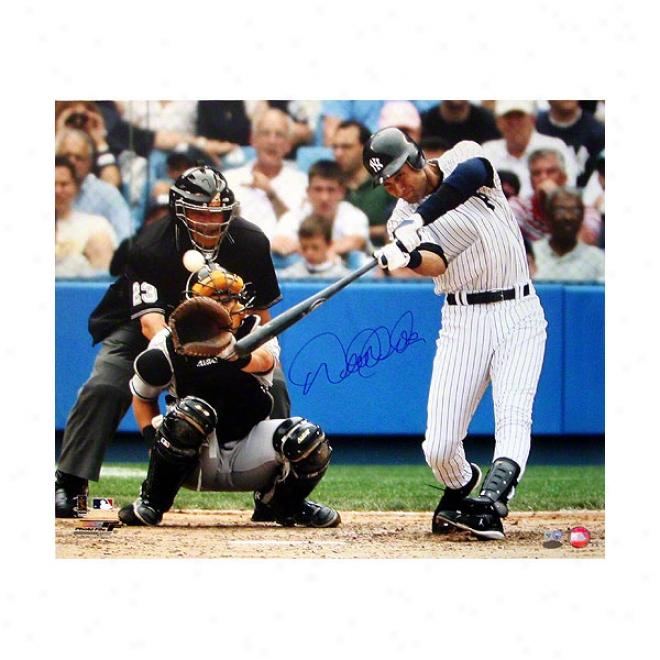 Derek eJter New York Yankees 20x24 Autographed Photograph