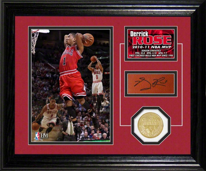 Derrick Rose Chicago Bylls: Nba Mvp Player Pride Desktop Pyotograph