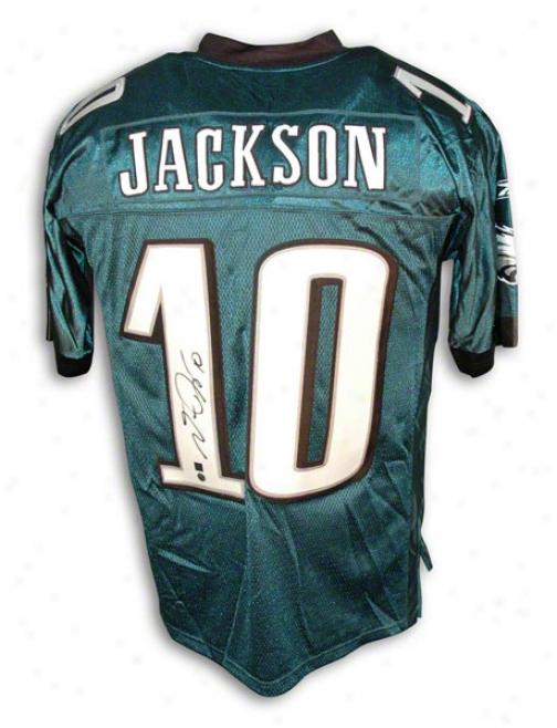 Desean Jackson Autographed Philadelphia Eables New Reebok Jersey