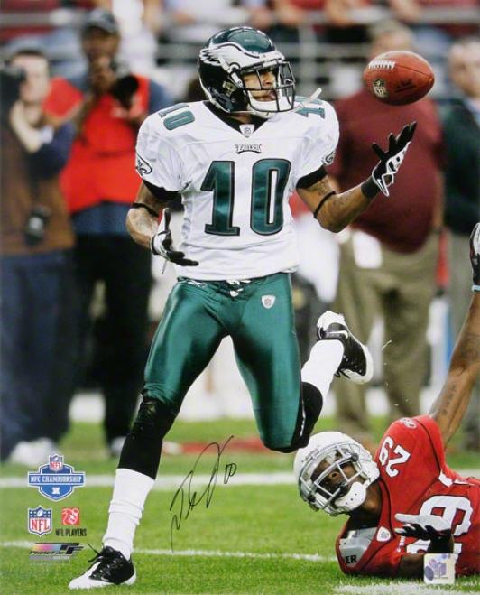 Desean Jackson Philadelphia Eagles - 09 Nfc Championship - Autographed 16x20 Photograph