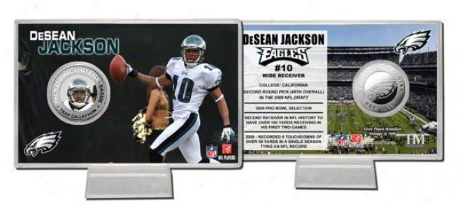 Deseaan Jackson Silver Coin Card