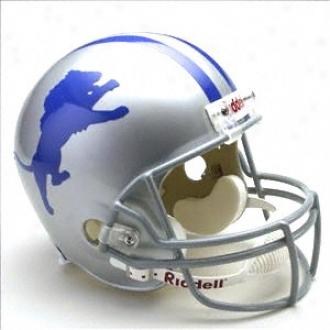 Detroit Lions 1960-1969 Authentic Pro Line Riddell Throwback Full Size Helmet