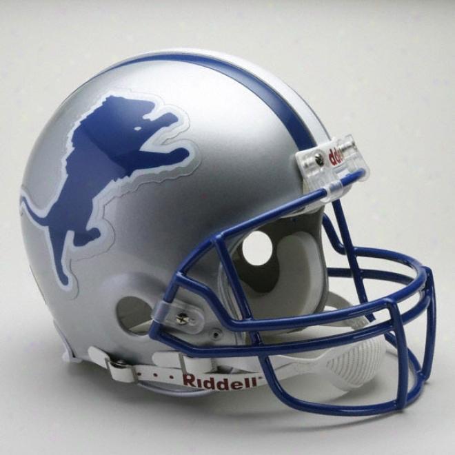 Detroit Lions 1983-2002 Authentic Pro Line Riddell Throwback Full Size Helmet