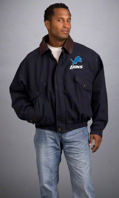 Detroit Lions Jacket: Ships of war Reebok Navigator Jacket