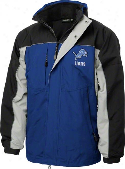 Detroit Lions Jerkin: Reebok Tston Jacket
