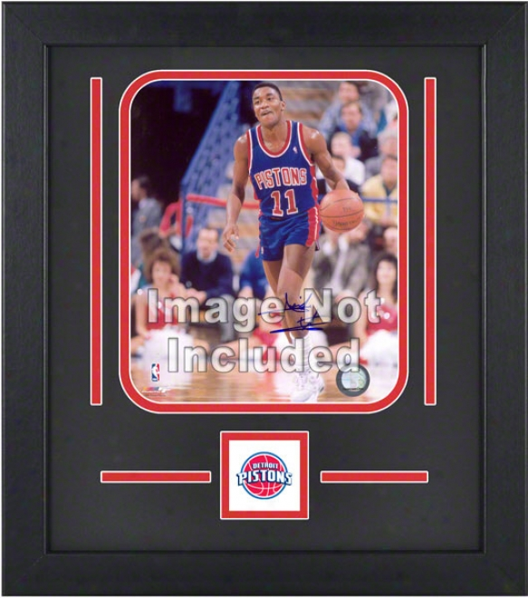 Detroit Pistons 8x10 Vertical Setup Fabricate With Team Logo