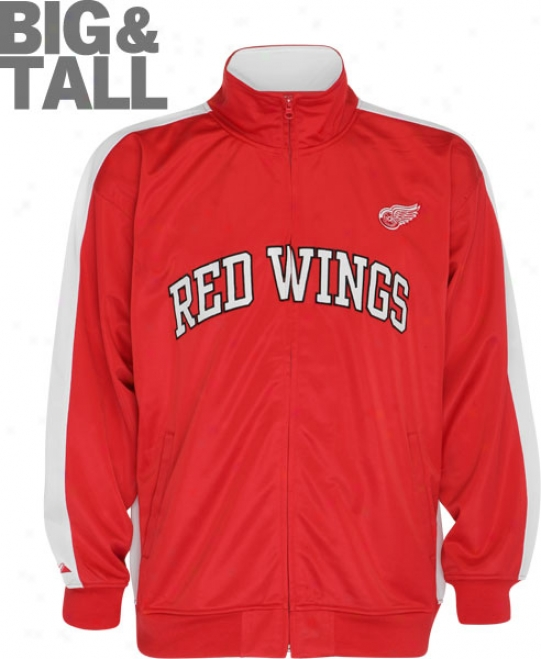 Detroit Red Wings Biig & Tall Full-zip Track Jacket