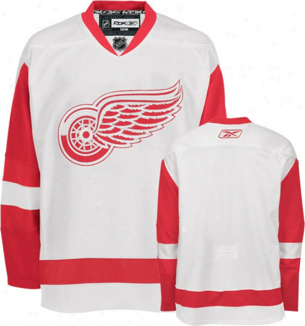 Detroit Red Wings -white- Authentic Rbk Edge Jersey