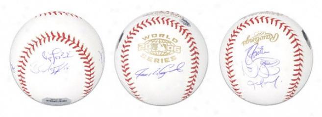 Detroi tTigers 2006 World Series Team Signed Baseball