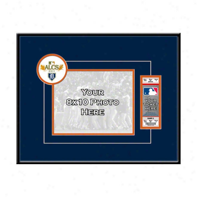 Detroit Tigers 2011 American League Championship Your 8x10 Photo Ticket Frame