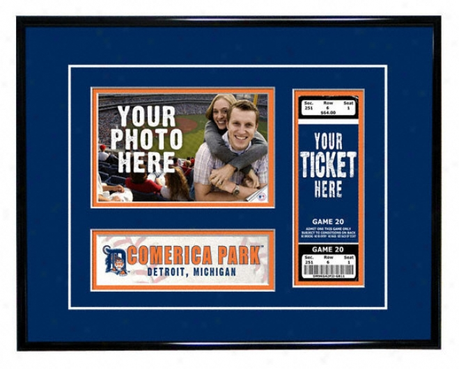 Detroit Tigers - Game Day - Ticket Frame