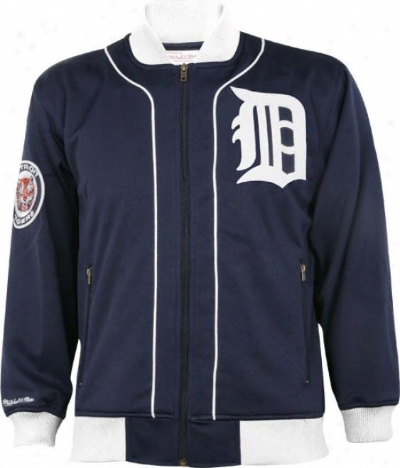 Deroit Tigers Mitchell & Ness Sportsman's Track Jacket