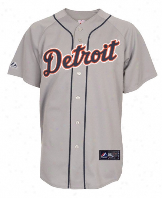 Detroit Tigers Road Mlb Replica Jersey