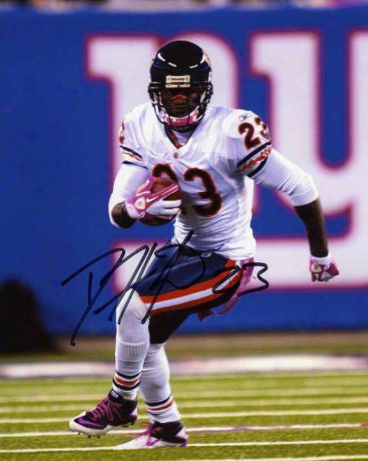 Devin Hesterr Autographed 8x10 Photograph  Details: Chicago Bears