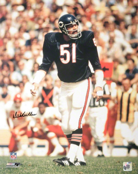 Dick Butkus Chicago Bears Autographed 16x20 Photograph