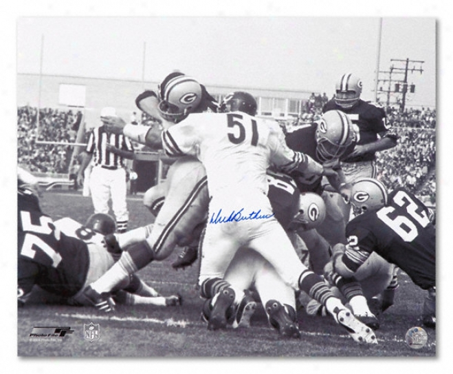 Dick Butkus Chicago Bears - Packer Nap - Autographed 16x20 Photograph