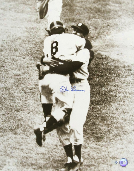 Don Larsen New York Yankees Autographed 16x20 Photograph