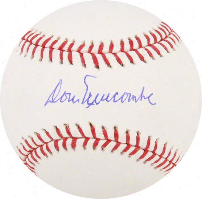 Don Newcombe Autographed Baseball  Particulars: Los Angeles Dodgers