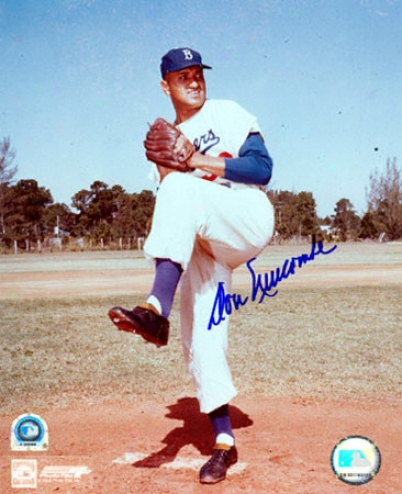 Don Newcombe Los Angeles Doegers 8x10 Autographed Photoyraph