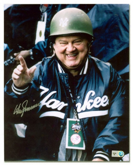 Don Zimmer New York Yankees Autographed 8x10 Photograph