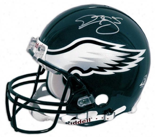Donovan Mcnabb Autographed Pro-line Helmet  Details: Philadelphia Eagles, Authentic Riddell Helmet