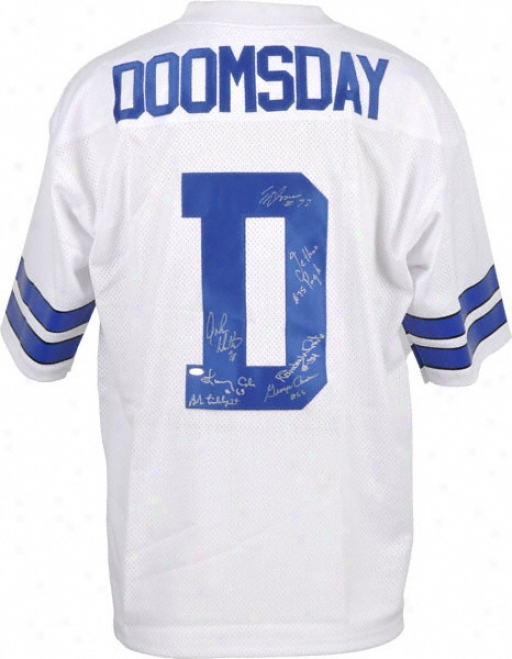 Doomsday Defense Autographed Jersey  Details: Custom