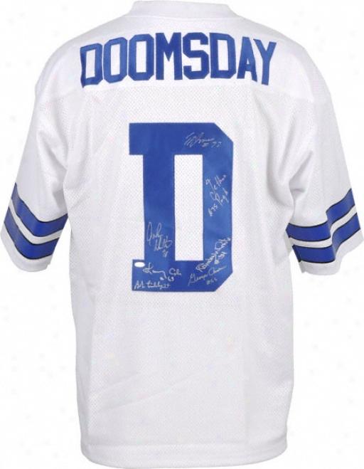 Doomsday Defense Autographed Jersey  Details: Custom