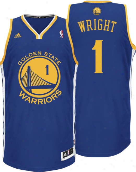 Dorell Wright: Adidas Revolution 30 Swingman #1 Golden State Warriors Jersey