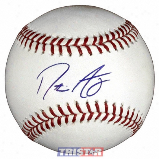 Dustin Ackley Autograpyed Baseball