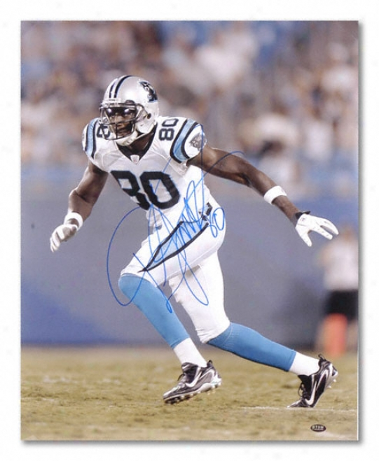Dwayne Jarrett Carolina Panthers Autographed 16x20 Photograph