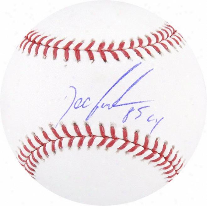 Dwight &quotxoc&quot Gooden Autographed Baseball  Details: 85 Cy Inscription