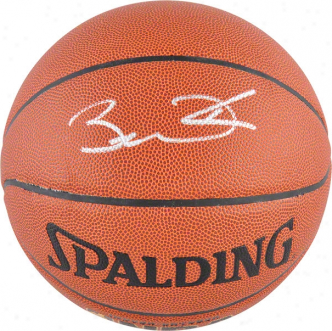 Dwyane Wade Autographed Basketball  Details: Indoor/outsoor Basketball