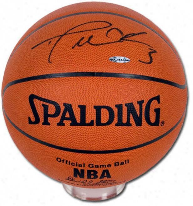Dwyane Wade Autographed Basketball