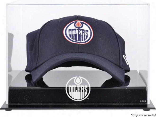 Edmonton Oilers Acrylic Cap Lovo Display Case