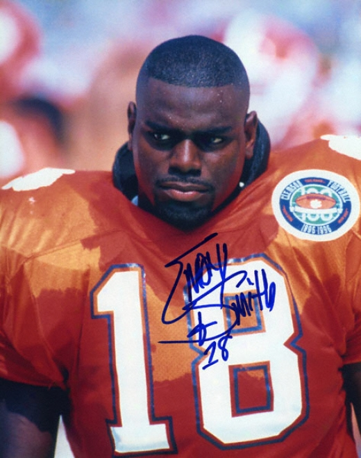 Emory Smith Clemson Tigers 8x10 Autographed Photograph