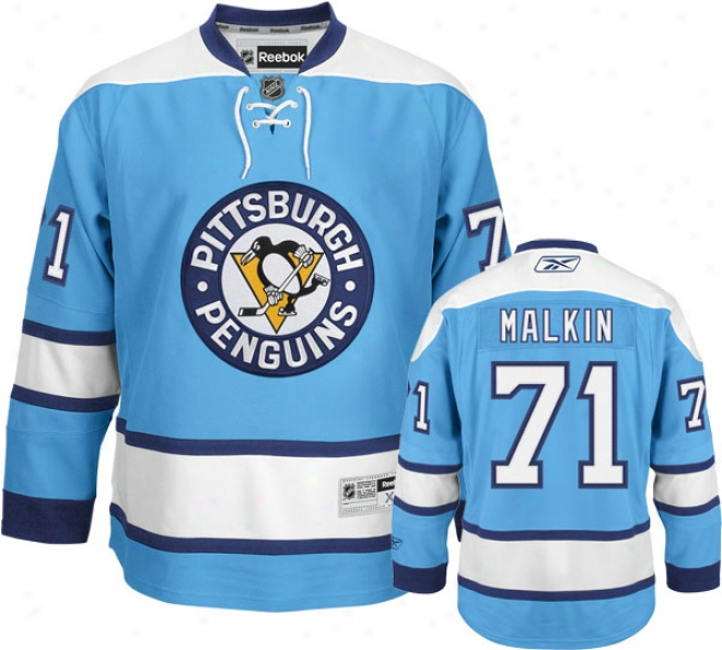 Evgeni Malkin Jersey: Reebok Alternate #71 Pittsburgh Penguins Premier Jersey