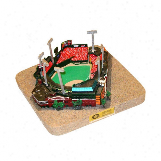 Fenway Park Stadium Replica - Gold Seried