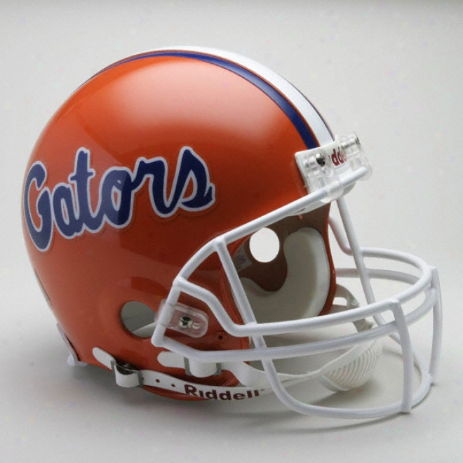 Florida Gators Authentic Pro Line Riddell Full Size Helmet