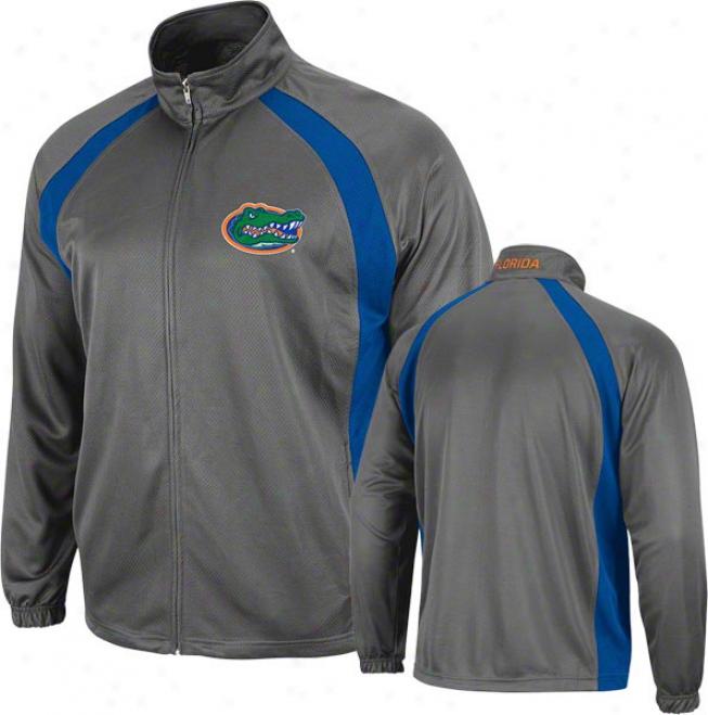 Florida Gators Charcoal Rival Full-zip Jacket