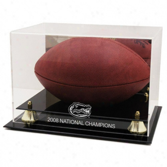 Florida Gators Gloden Classic 2008 Public Champions Logo Football Case With Mirror Back