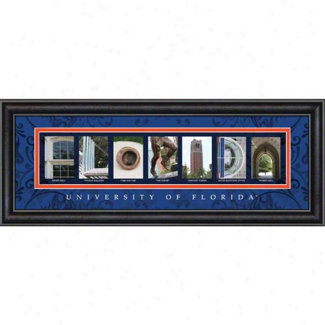 Florida Gators Letter Art