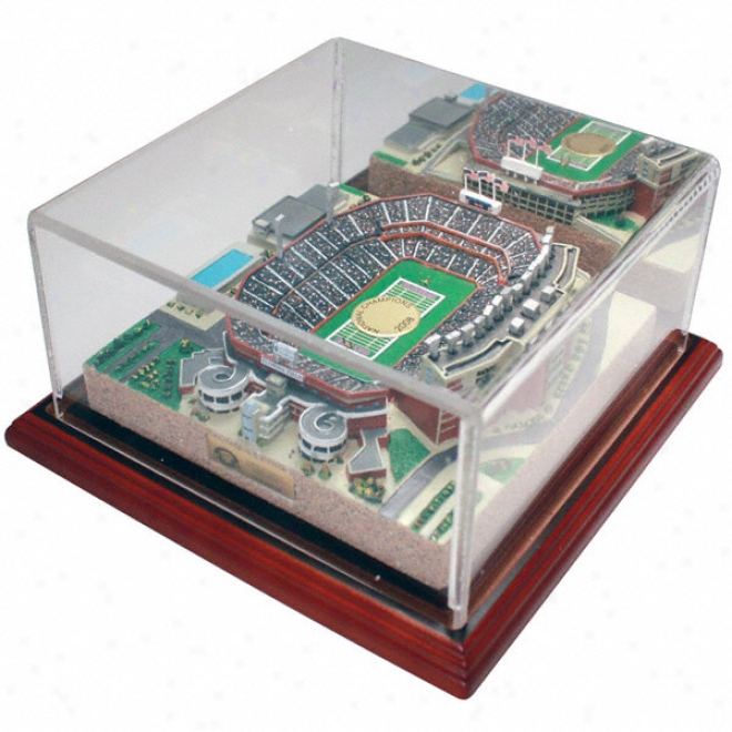 Florida Gators &quotthe Swamp&quot Replica With Case - Gold Series