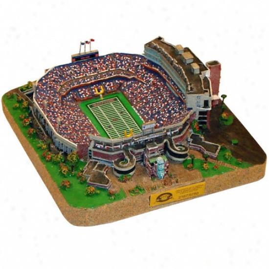 Florida Gators - &quotthe Swamp&quot Stadium Replica - Gold Succession