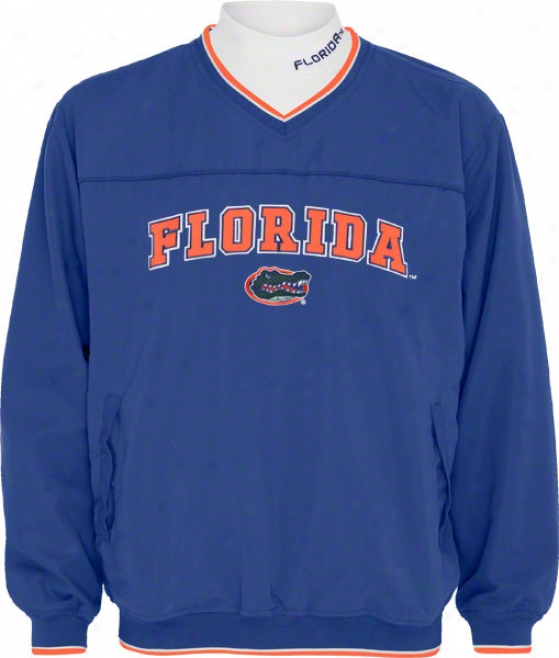 Florida Gators Windshirt/long Sleeve Mockneck Combo Pack